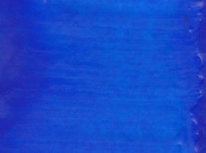 Échantillon de couleur encaustique bleu de cobalt