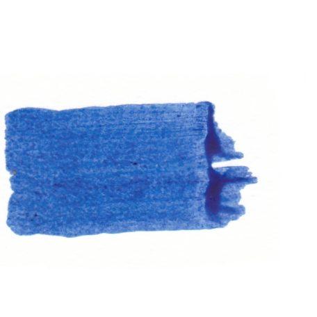 Echantillon de peinture encaustique pur + médium + blanc Bleu phtalo