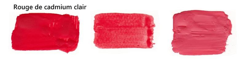 Rouge de cadmium clair 80 ml