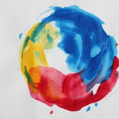 cercle chromatique couleurs primaires